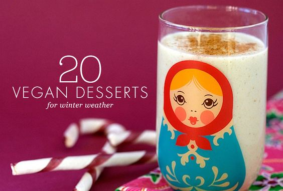 Don't miss these 20 recipes for vegan desserts.