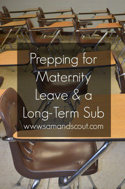 Reader Advice on Maternity Leave and Prepping for a Long-Term Sub