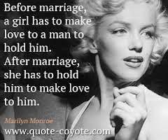 Marilyn.<3