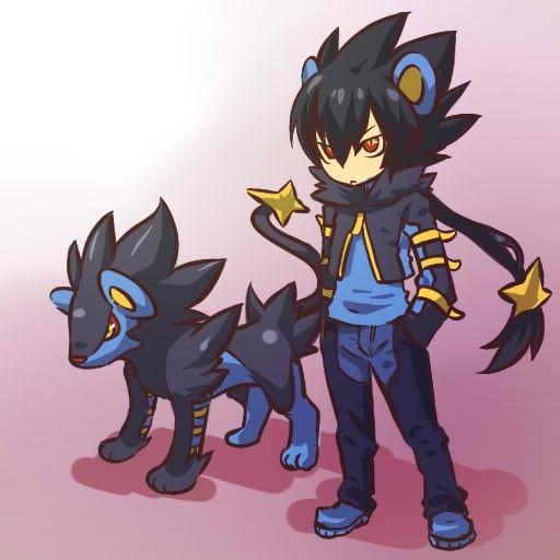 Luxtra As Human Pokemon Manga Alle Pokemon Pokemon Zeichnen