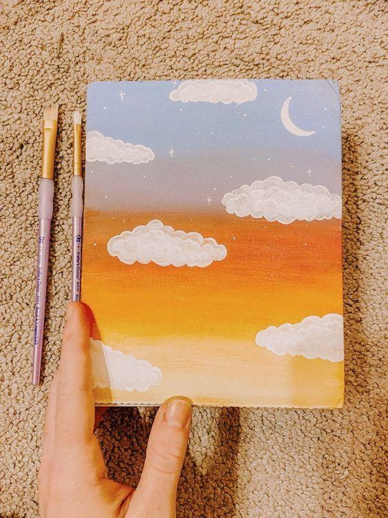 40 Easy Acrylic Painting Ideas On Canvas Mini Canvas Art Simple Canvas Paintings Cute Canvas Paintings