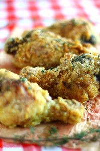 Paleo comfort food at its best! Delicious, crispy, golden brown fried chicken that's grain-free and coconut-free. Done in under an hour!