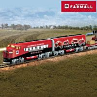 917318 - Farmall Delivers Express Illuminated Electric Tra…