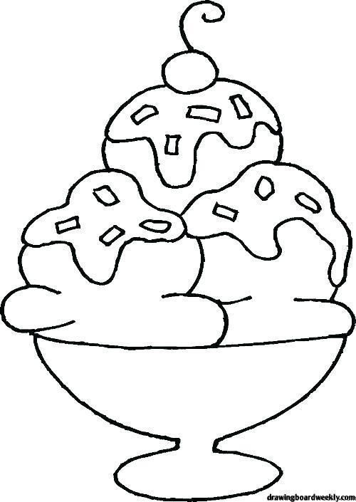 Ice Cream Coloring Pages Proteinicecream Ice Cream Coloring Pages