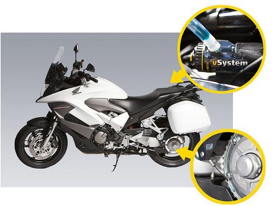 honda crossrunner motorcycle scottoiler vsystem. Black Bedroom Furniture Sets. Home Design Ideas