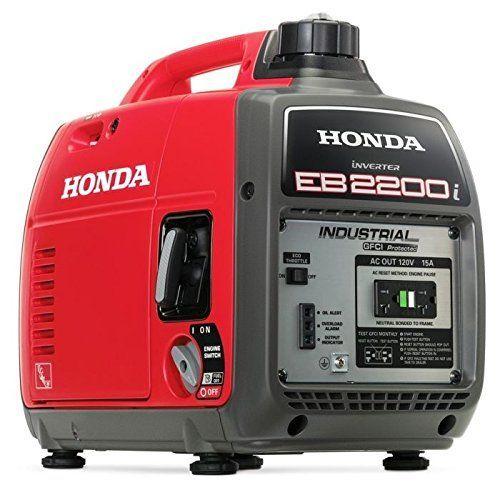 Part Of Honda Power Equipment S Super Quiet Series Of Generators The New Eb2200i Lineup Is Portable Inverter Generator Best Portable Generator Honda Generator