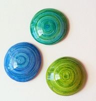 polymer clay and ink - Google Search