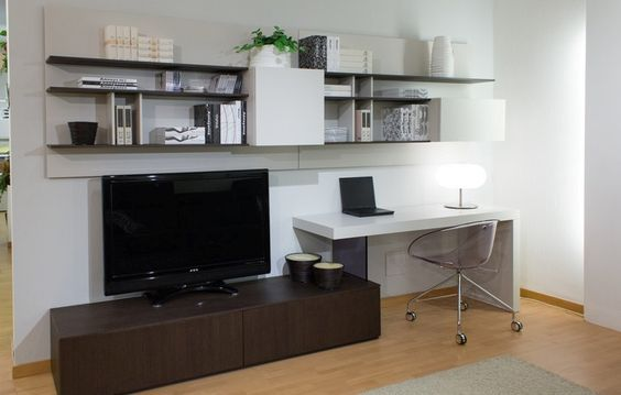 Rack muebles melamina fabrica de muebles escritorios for Muebles de escritorio modernos para casa