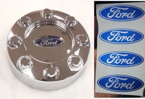 4pc Ford F 250 F 350 Center Cap Wheel Hub Logo Decal Stickers Emblem 2 5 X 1 F250 Hub Logo Ford