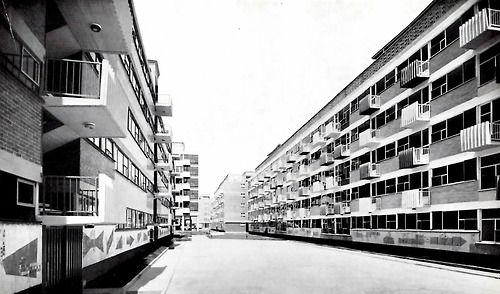 Colonia Sobre la Calzada de Tlalpan, México DF, 1957: Tlalpan México, Mexico City, Df 1957, On, White Black, Colonia Sobre, De Tlalpan