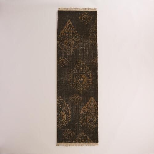 Radley Floral Hand-Knotted Wool Area Rug | World Market