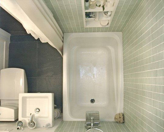 Tips for Tiny Bathrooms:
