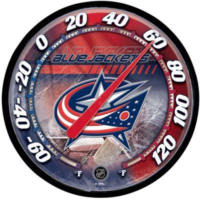 Wincraft NHL Thermometer NHL Team: Columbus Blue Jackets ...