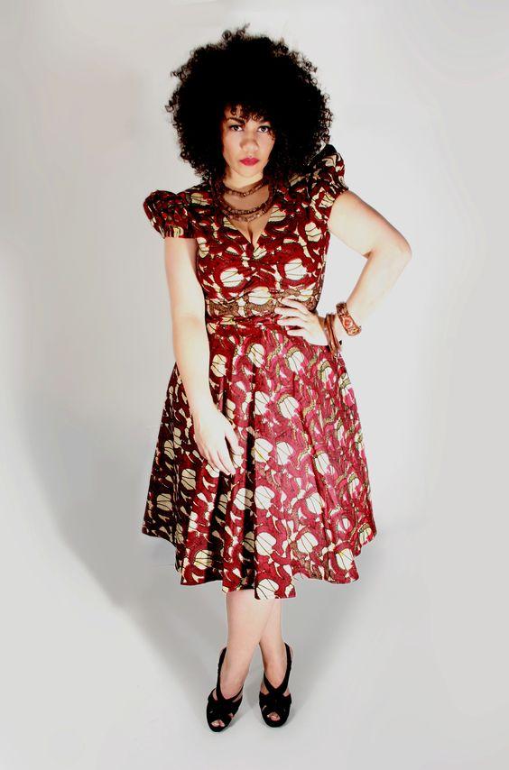 Dress designs for plus size ladies