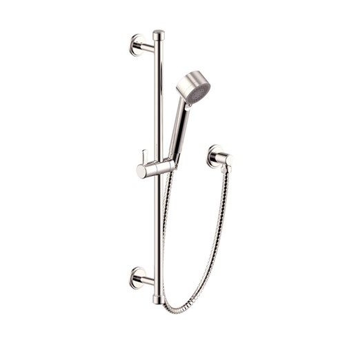 Slide Bar With Hand Shower Darby Series 15 Polished Nickel Hand Shower Slide Bar Polished Nickel