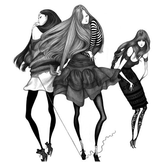 Prefer to start looking 10 years younger? Please click here Today: http://bit.ly/HzgDcQ ..Fashion Illustration