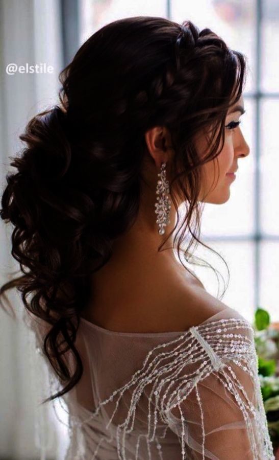 Braided Wedding Hairstyles For African American Wedding Hairstyles Half Up Half Half Up Wedding Hair Wedding Hairstyles Medium Length Simple Wedding Hairstyles