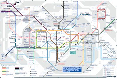 lontoon metrokartta – Google-haku