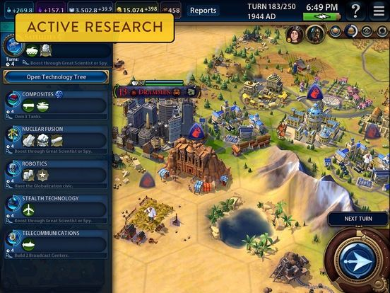 Civilization Vi Is Now Available For Ipads It S Pretty Much The Same As The Pc Game For The Same Price Liliputing In 2021 Civilization Vi Games Game Design