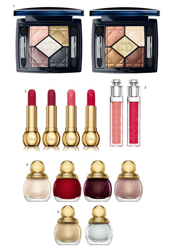 Maquiagem Dior Golden Winter Holiday!