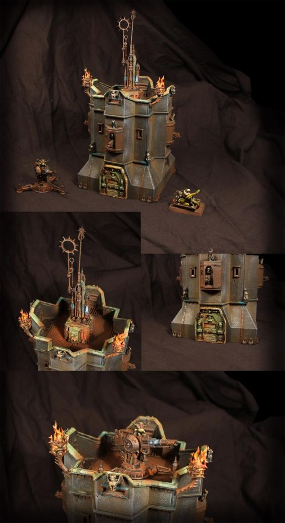 Bastion, Chaos, Fortification, Imperial Bastion, Terrain
