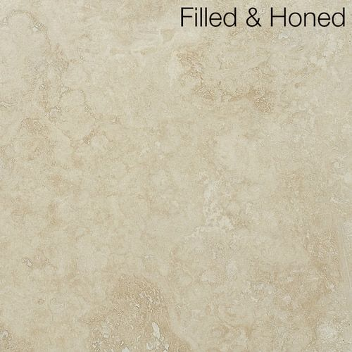 Ivory Classic Filled And Honed 12 X 12 Natural Stone Textured Wallpaper Travertine Metal Mosaic Tiles