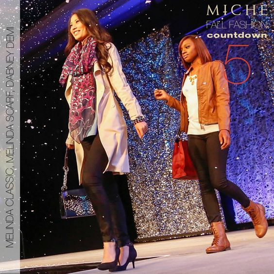 Get a little wild this season with number 5 on our countdown, Melinda for Classic. This custom abstract snake print comes in all sizes and is sure to be a conversation starter! Accessorize your fall wardrobe with our Melinda Scarf that not only matches this collection, but many of our other new Fall Releases as well! #michefashion #fallfashion