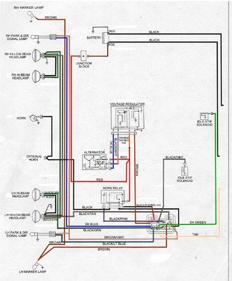 1968 Camaro Wiring Diagram Pdf
