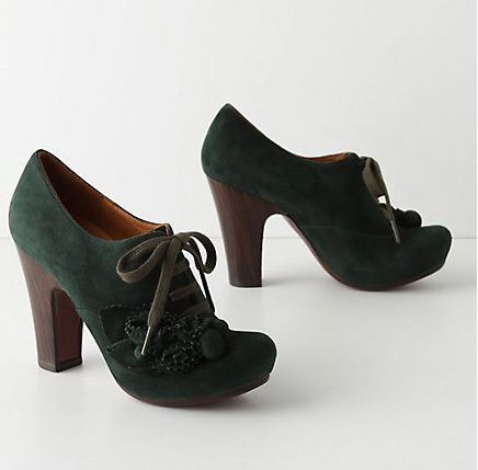 Chie Mihara Forest Flower Oxfords. Faint.