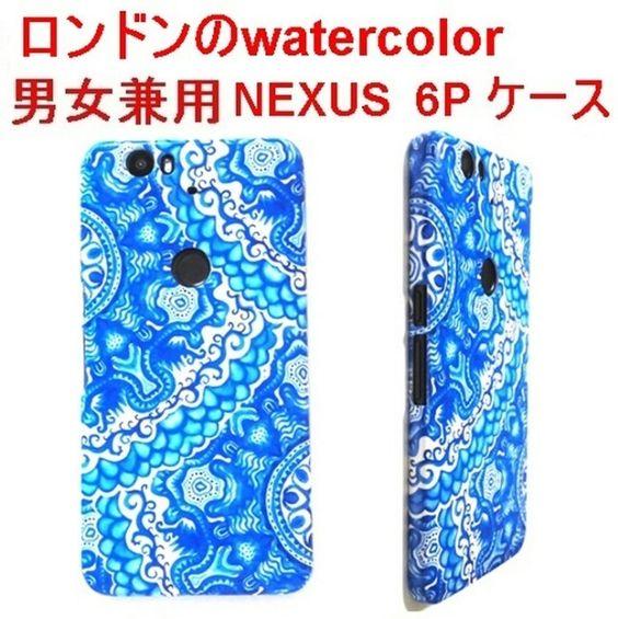 『英国の水彩nexus 6p ケース …』
