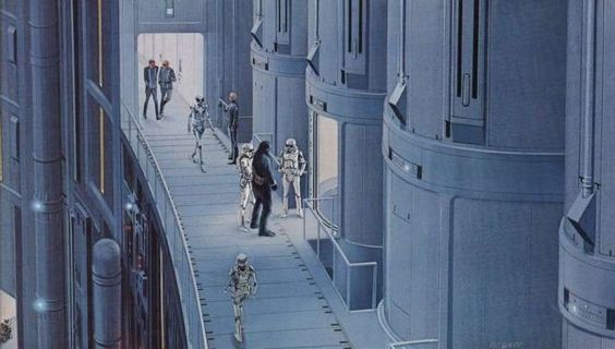MUST-SEE: INCREDIBLE ORIGINAL CONCEPT ART FOR 'STAR WARS'  Star Wars (1977)        enhanced-buzz-wide-14166-1398184140-37