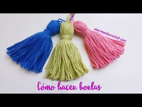 Borlas En Lana O Hilo Tejiendo Perú Youtube Padrões De Poncho Crochet Padrão De Colcha De Crochê Modelo De Bebê De Crochê