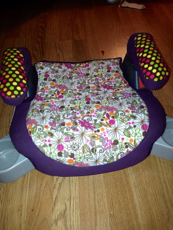 replacement car seat booster seat cover any by classiccitycharm yep i made that pinterest. Black Bedroom Furniture Sets. Home Design Ideas