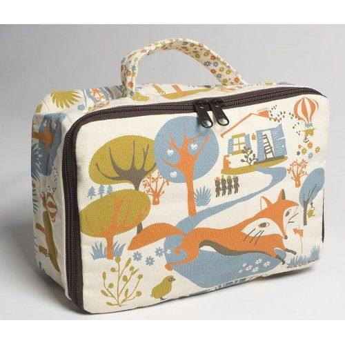 Fox Small Suitcase - Coq en Pate