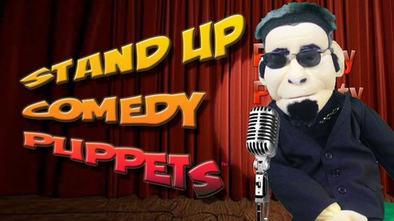 Stand Up Comedy Puppet Tony Bananas from Sweetles® TV Show.