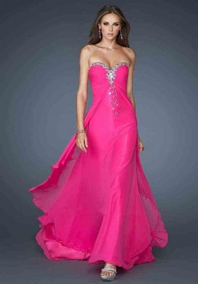 A-Line Dresses Chiffon No Waist/Princess Seams Formal Dresses Is Never out of Fashion in women's Wardrobe