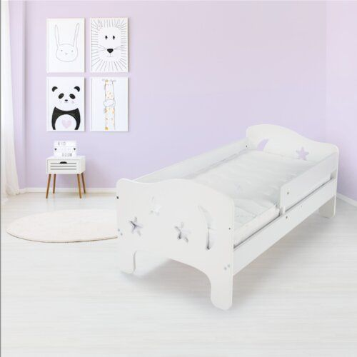 Ashly Convertible Toddler Bed Honeybee Nursery Colour Bed Frame