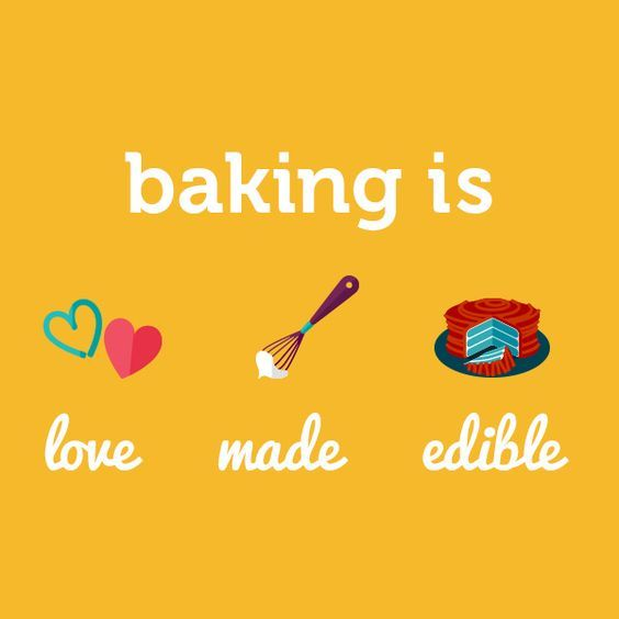 Baking Is Love Made Edible Ultimatebaker Baking Love Quote Edible Saying Baking Quotes Funny Baking Quotes Foodie Quotes