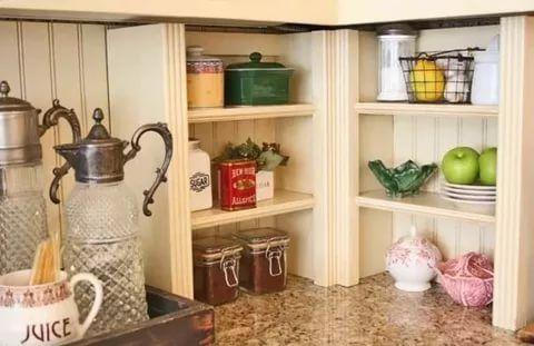 23 Stunningly Corner Shelf Ideas A Guide For Housekeeping Sleek Kitchen Shelves Decor