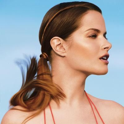 Side Winder: An easy way to glam up an ordinary ponytail