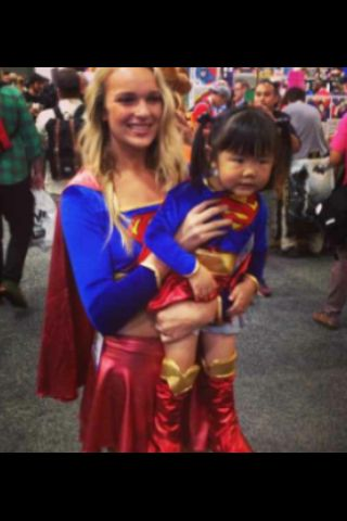 Lil' Cosplay: Supergirl