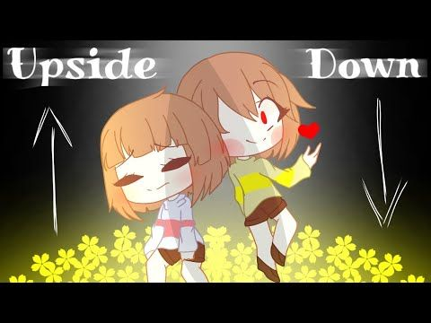 Upside Down Gacha Life Meme Undertale Youtube Cute Anime Chibi Undertale Anime Chibi