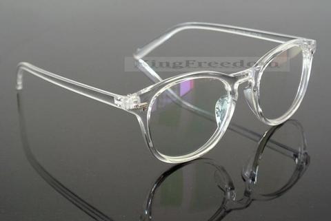 Vintage Eyeglass Frame Retro Clear Transparent Full Rim Plain Glasses Spectaclesmodlilj Clear Glasses Frames Women Glasses Fashion Vintage Eyeglasses Frames