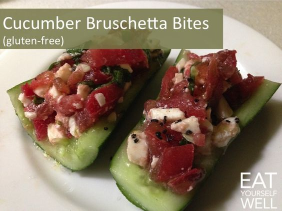 Bruschetta, Basil leaves and Simple recipes on Pinterest