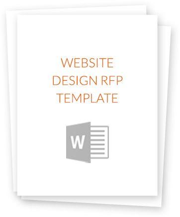 Get The Website Design RFP Template #webdesign #rfp #template - rfp template