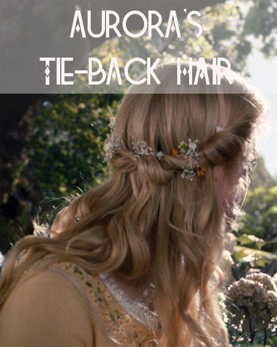 Get Aurora's Tie-Back Hair