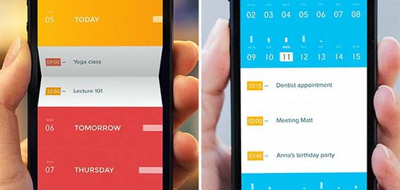We tested: Peek Calendar | Yu Centrik - Just downloaded it, looks very slick :)