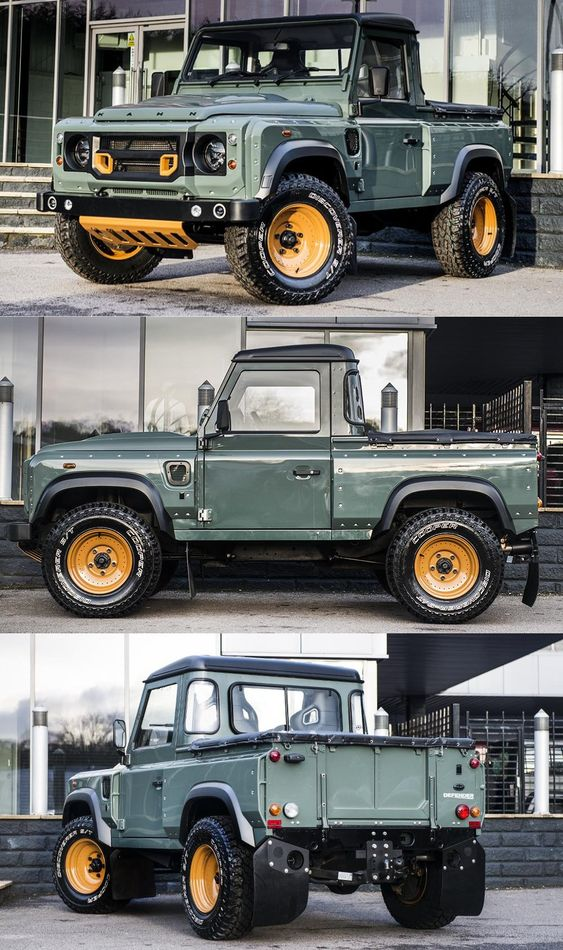 Land Rover Defender 2.4 TDCI 90 Pick Up by Chelsea Truck Company