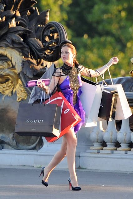 Image result for shopping blair waldorf