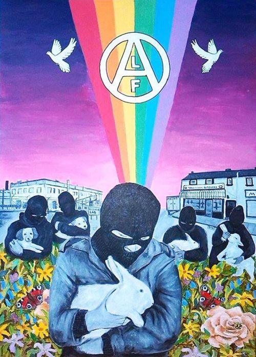 animals rainbow flowers peace rabbit veganism animal rights animal liberation alf go vegan animal love animal testing animal abuse Animal Rescue ANIMAL ART vegan art: